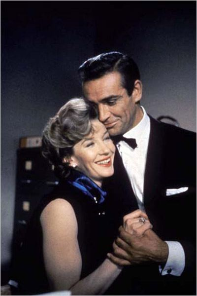 Bons baisers de Russie : photo Lois Maxwell, Sean Connery, Terence Young
