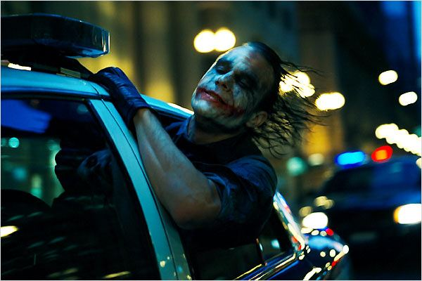 The Dark Knight, Le Chevalier Noir : Photo Christopher Nolan, Heath Ledger