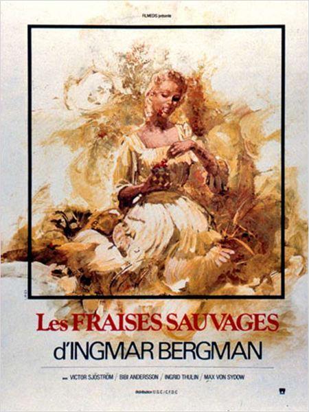Les Fraises sauvages : Affiche Ingmar Bergman