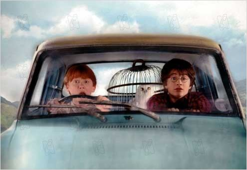 Harry Potter et la chambre des secrets : photo Chris Columbus, Daniel Radcliffe, Rupert Grint