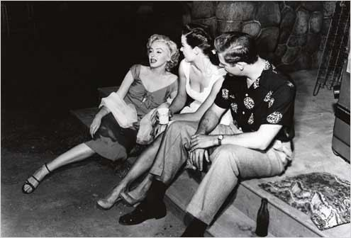 Niagara : Photo Casey Adams, Henry Hathaway, Jean Peters, Marilyn Monroe