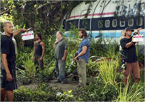Lost, les disparus : photo Elizabeth Mitchell, Henry Ian Cusick, Naveen Andrews, Sam Anderson
