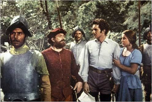 Capitaine de Castille : photo Henry King, Jean Peters, Tyrone Power