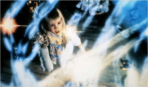 Poltergeist : photo Heather O'Rourke, Tobe Hooper