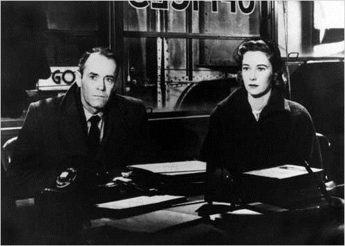 Le Faux Coupable : photo Alfred Hitchcock, Henry Fonda, Vera Miles