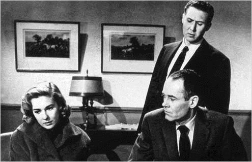 Le Faux Coupable : photo Alfred Hitchcock, Anthony Quayle, Henry Fonda, Vera Miles
