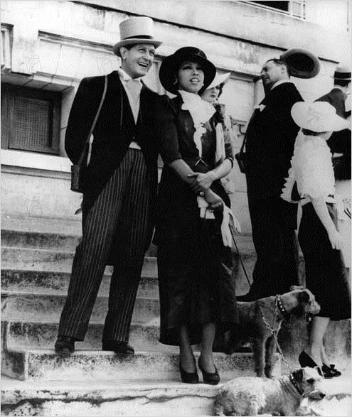 Princesse Tam Tam : Photo Albert Préjean, Edmond T. Greville, Josephine Baker