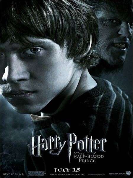 Harry Potter et le Prince de sang m&#234;l&#233; : affiche David Yates