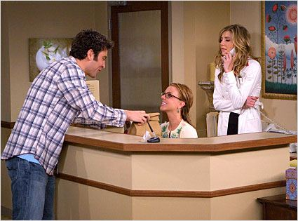 How I Met Your Mother : photo Britney Spears, Josh Radnor, Sarah Chalke