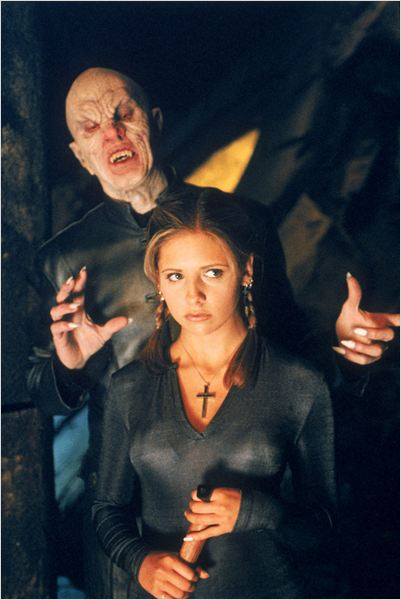 Buffy contre les vampires : Photo Mark Metcalf, Sarah Michelle Gellar