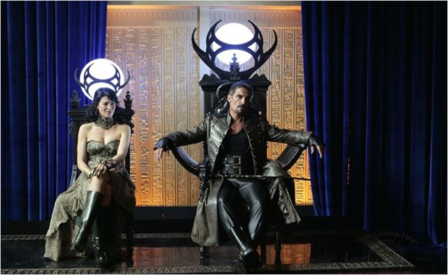 Stargate SG-1 : photo Claudia Black, Cliff Simon