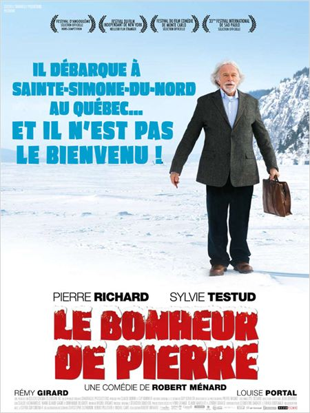 Le Bonheur de Pierre : affiche Robert M&#233;nard