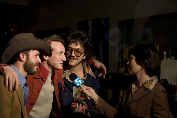 Harvey Milk : Photo Diego Luna, Gus Van Sant, Sean Penn