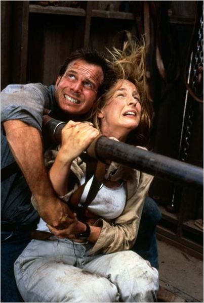 Twister : Photo Bill Paxton, Helen Hunt, Jan de Bont