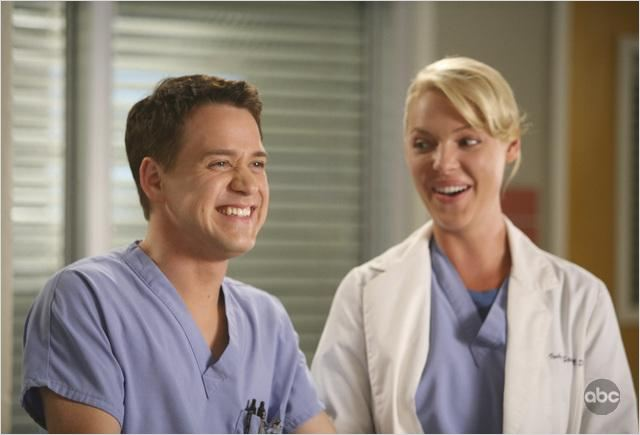Grey's Anatomy : photo Katherine Heigl, T.R. Knight