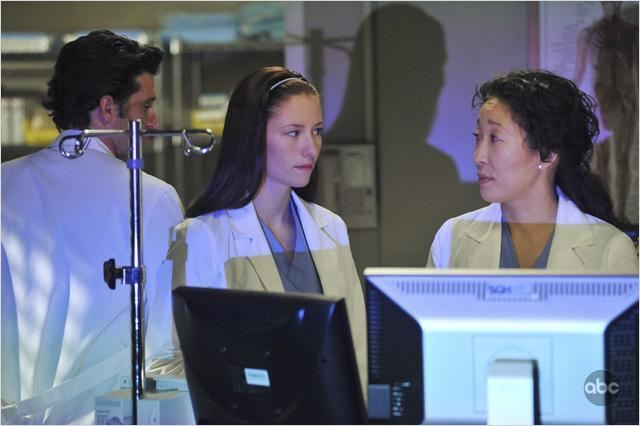 Grey's Anatomy : photo Chyler Leigh, Patrick Dempsey, Sandra Oh