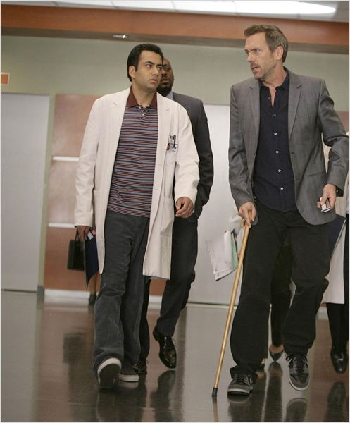 Dr House : photo Hugh Laurie, Kal Penn, Omar Epps