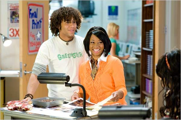 High School Musical 3 : nos années lycée : Photo Corbin Bleu, Kenny Ortega, Monica Coleman