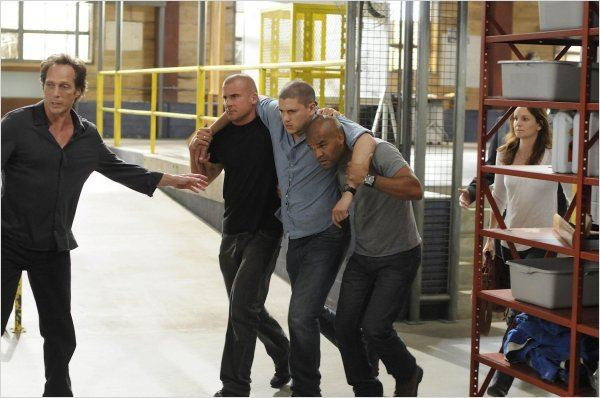 Prison Break : Photo Amaury Nolasco, Dominic Purcell, Sarah Wayne Callies, Wentworth Miller, William Fichtner