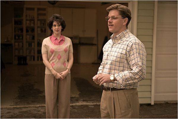 The Informant ! : Photo Matt Damon, Melanie Lynskey, Steven Soderbergh