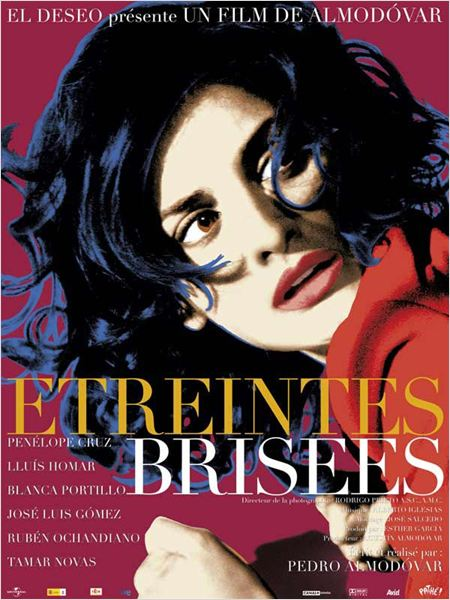 Etreintes bris&#233;es : affiche Pedro Almod&#243;var, Pen&#233;lope Cruz