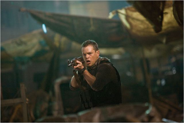 Green Zone : Photo Matt Damon, Paul Greengrass
