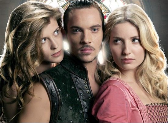Les Tudors : photo Annabelle Wallis, Jonathan Rhys Meyers