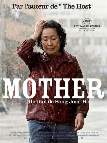 Mother : affiche Bong Joon-ho