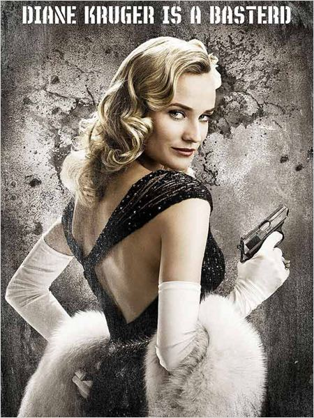Inglourious Basterds : affiche Diane Kruger, Quentin Tarantino