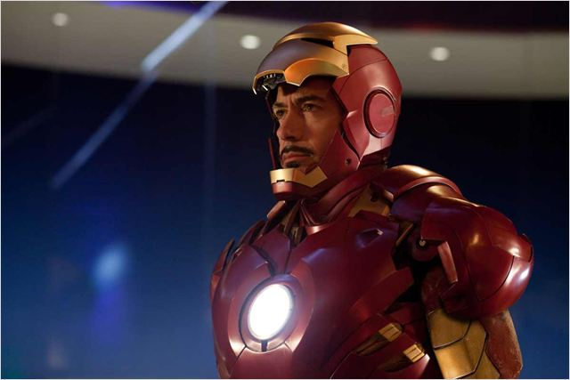 Iron Man 2 : Photo Jon Favreau, Robert Downey Jr.