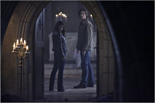 Supernatural : photo Genevieve Cortese, Jared Padalecki