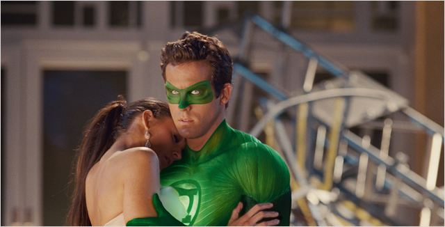 Green Lantern : photo Blake Lively, Martin Campbell, Ryan Reynolds