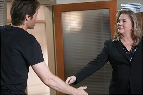 Californication : Photo David Duchovny, Kathleen Turner