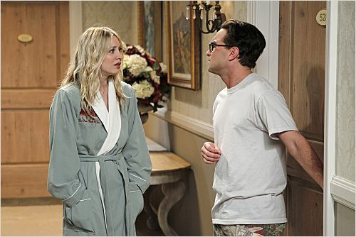 The Big Bang Theory : photo Johnny Galecki, Kaley Cuoco
