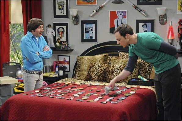 The Big Bang Theory : photo Jim Parsons, Simon Helberg