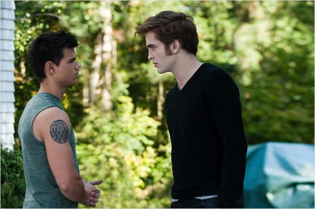 Twilight - Chapitre 3 : hésitation : Photo David Slade, Robert Pattinson, Taylor Lautner