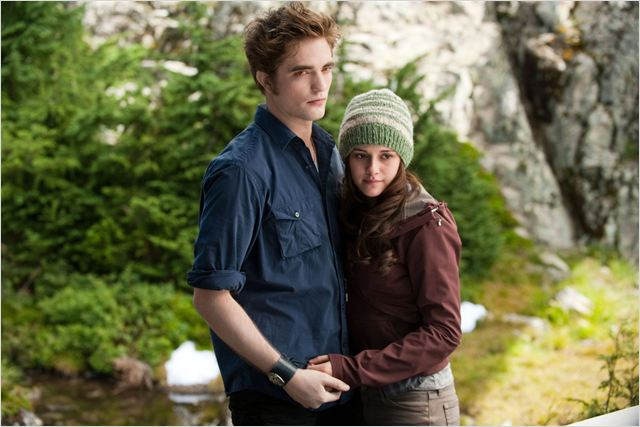 Twilight - Chapitre 3 : hésitation : photo David Slade, Kristen Stewart, Robert Pattinson