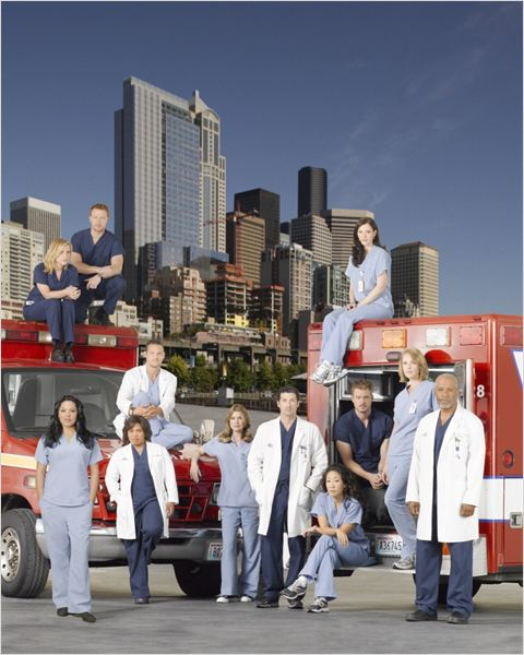 Grey&#39;s Anatomy : photo Chyler Leigh, Ellen Pompeo, Eric Dane, James Pickens Jr., Jessica Capshaw