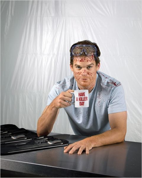 Dexter : photo Michael C. Hall