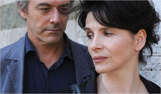 Copie conforme : photo Abbas Kiarostami, Juliette Binoche, William Shimell
