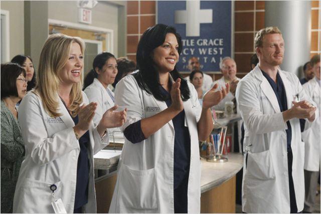 Grey's Anatomy : Photo Jessica Capshaw, Kevin McKidd, Sara Ramirez