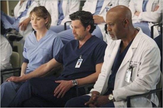 Grey's Anatomy : Photo Ellen Pompeo, James Pickens Jr., Patrick Dempsey