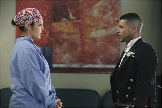 Grey's Anatomy : Photo Sara Ramirez, Wilson Cruz