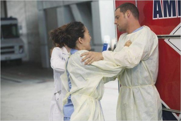 Grey&#39;s Anatomy : photo Justin Chambers, Sandra Oh