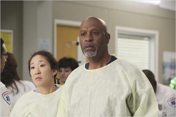 Grey's Anatomy : photo James Pickens Jr., Sandra Oh