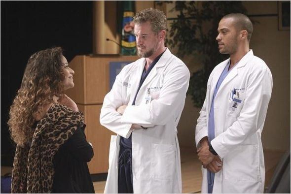 Photo Debbie Allen, Eric Dane, Jesse Williams