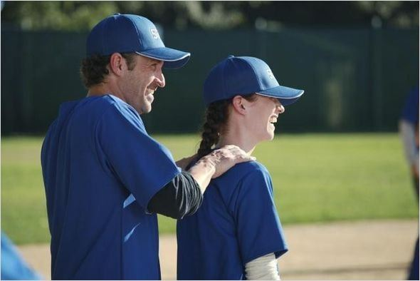 Photo Chyler Leigh, Patrick Dempsey
