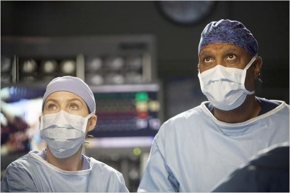 Grey&#39;s Anatomy : photo Ellen Pompeo, James Pickens Jr.