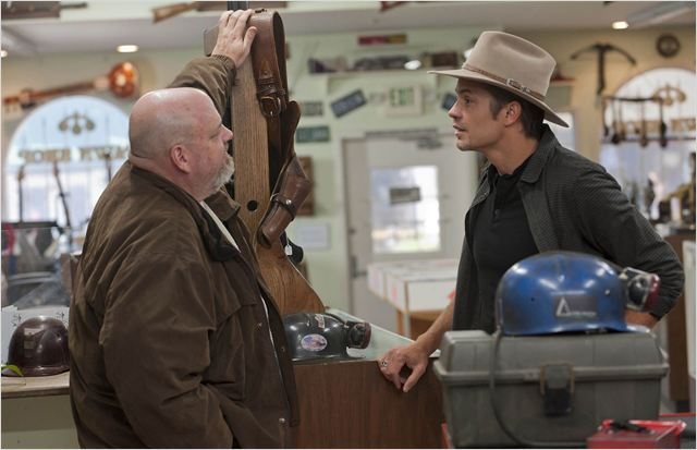 Justified : photo Pruitt Taylor Vince, Timothy Olyphant