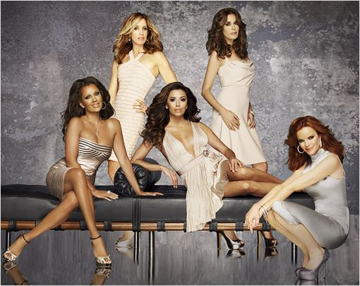 Desperate Housewives : photo Eva Longoria, Felicity Huffman, Marcia Cross, Teri Hatcher, Vanessa Williams